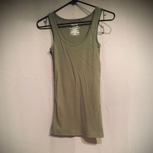 Women's ribbed tank top